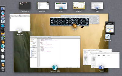 screenshot of OS X Lion